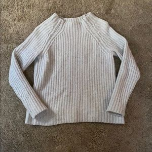 LORD & TAYLOR Cashmere Blend High Neck Sweater